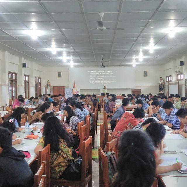 SMA Pangudi Luhur – TOEFL & Education Fair
