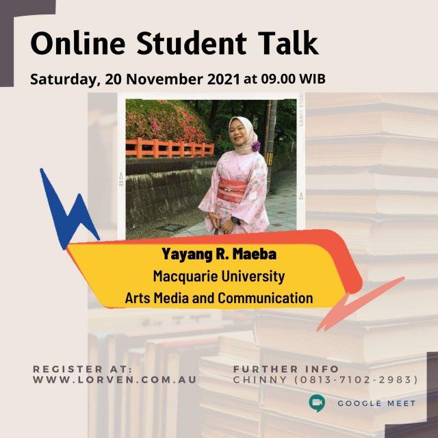 Online Student Talk