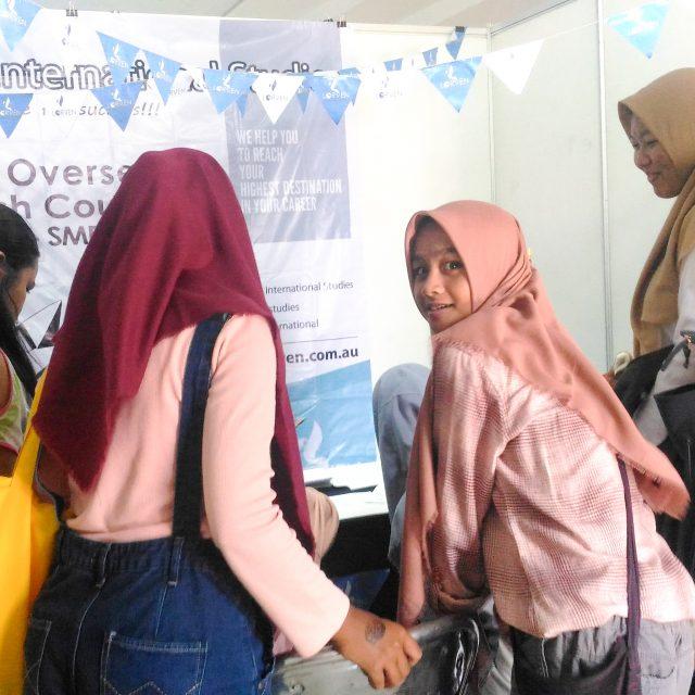 SMA N 1 Magelang – Education Fair